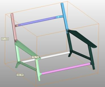 Lounge Chair Frame